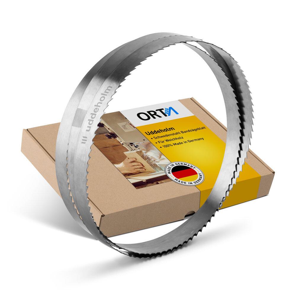 Bands/ägeblatt Uddeholm Schwedenstahl 3000mm-5500mm x 20mm 5250mm x 0,7mm ZT8